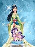 Mulan and lychee by unicornsmile-d8ij1r4