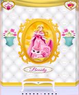 Beauty's Portrait With Aurora 3