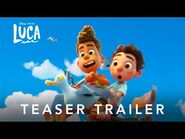 'Luca' - Teaser Trailer (legendado)