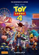 Toy Story 4 Australian poster