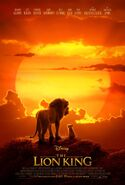 The Lion King 2019 first poster
