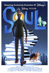 Soul official Disney+ poster