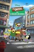 Os Green na Cidade Grande - Poster Português