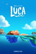 Luca teaser poster
