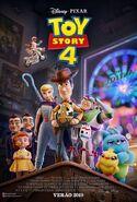 Toy Story 4 Pôster Novo