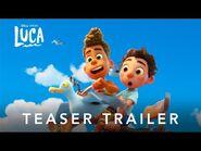 'Luca' - Teaser Trailer (dobrado)