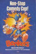 Disney's Bonkers - Print Ad from Disney Adventures - March 1994