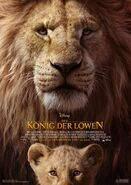 The Lion King Poster in German