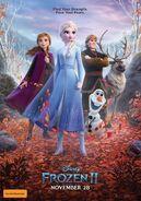 Frozen 2 australian poster