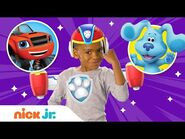 Top Jr. Dress Up Moments of 2019 w- PAW Patrol Mighty Pups, Blue's Clues & Butterbean! - Nick Jr.