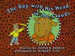 The Boy with His Head in the Clouds Title Card.png