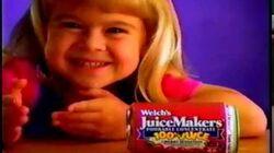 Welchs Juicemakers commercial, 1997