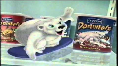 Dannon Danimals Fruit Yogurt TV Commercial