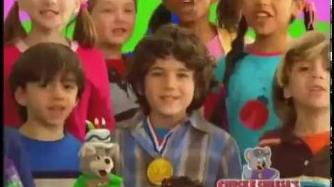 Chuck E Cheeses Birthday Party Commercials 2008 2009