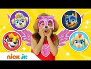 Mighty Twins Reveal! & Play Dress Up 🐶 With PAW Patrol! - Jr. Dress Up Ep. 7 - Nick Jr.