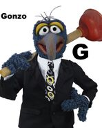 Gonzo (from The Muppets)