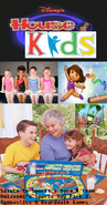 Disney's House of Kids - Salute to Sports 9- Dora & Team Umizoomi's Sports Day Part 3- Gymnastics & Boardwalk Games