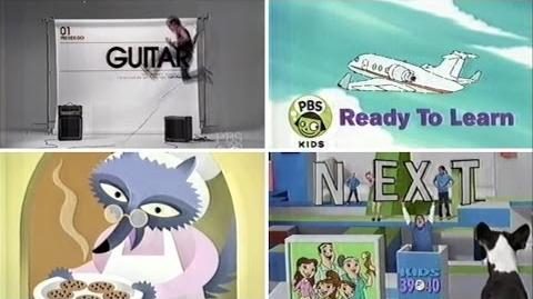 PBS Kids GO! Program Break - First Day of GO! (2004 WFWA-TV)