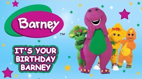 Barney Full Episode It's your Birthday Barney