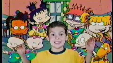 Be in the Rugrats Sweepstakes Ad 2001