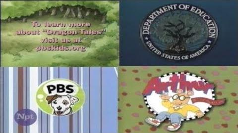 PBS Kids Program Break (2000 WNPT)