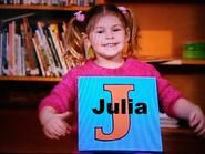 Julia (from Blue's Clues)