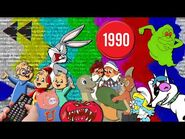 Saturday Morning Cartoons - 1990- Channel Surfing Edition - Full Episodes with Commercials