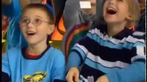 Chuck E Cheeses Commercial Ticket Shower