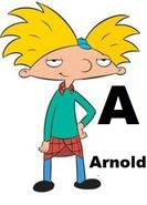 Arnold (from Hey Arnold)