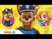Dress Up w- Marshall, Chase, Skye, Rubble & Tracker🐾 From PAW Patrol - Jr. Dress Up Ep.2 - Nick Jr.