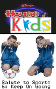 Disney's House of Kids - Salute to Sports 5- Keep On Going