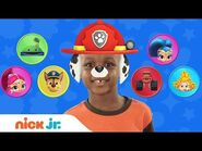 Play Junior Dress Up w- PAW Patrol, Blaze & Bubble Guppies 🐠 Ep. 1 - Nick Jr.