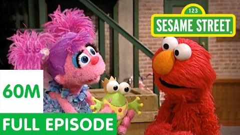 Elmo Teaches Abby to Pretend Sesame Street Full Episode