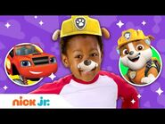 Junior Dress Up Party! w- PAW Patrol, Blaze & Dora! 🤩 Jr. Dress Up Ep. 13 - Nick Jr.