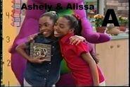 Ashely & Alissa (from Barney)