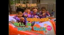 """ABC A.M. Posse """"After These Messages"""" bumpers - 1991"""