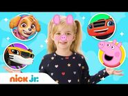 Play Junior Dress Up w- PAW Patrol, Peppa Pig & Blaze! Ep -14 - Nick Jr.