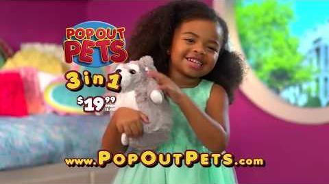 The Official Pop Out Pets Commercial As Seen On TV