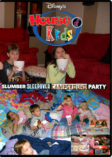 Disney's House of Kids - Slumber Sleepover Campground Party.png