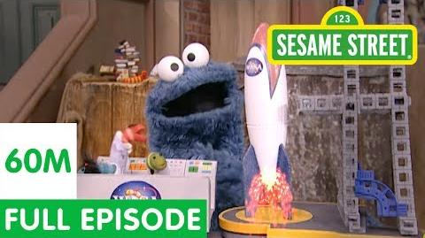 Cookie Monster Thinks the Moon is a Cookie Sesame Street Full Episode