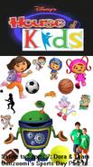 Disney's House of Kids - Salute to Sports 7- Dora & Team Umizoomi's Sports Day Part 1