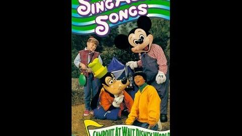 Mickey's Fun Songs Campout at Walt Disney World