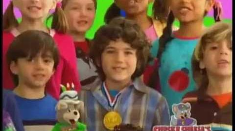 Chuck E. Cheese's Birthday Party Commercials (2008-2009)