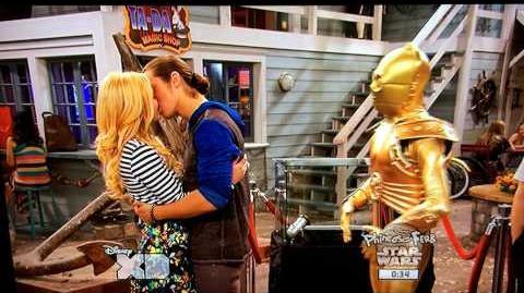 Kickin' It - Jack and Kim Kiss from Seaford Hustle