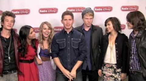 """Lemonade Mouth Cast's cover of """"Here We Go"""""""
