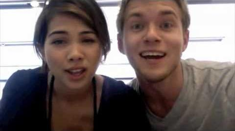 Lemonade Mouth- determinate-apple store dance-Turning the world into our dance floor!
