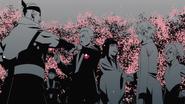 Naruto's friends congratulate Naruto and Hinata