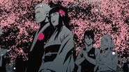 Naruto and Hinata congradulated by team 7