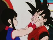 Goku i Chichi na Tenka-ichi Budokai