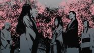 Naruto and Hinata congradulated by Hinata's family